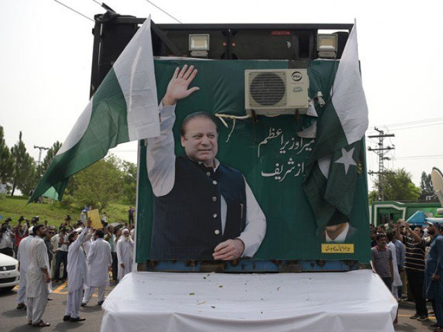 The senior legal expert says that the Sharif family made a major error as they did not challenge the maintainability of the petitions in the case. PHOTO: AFP