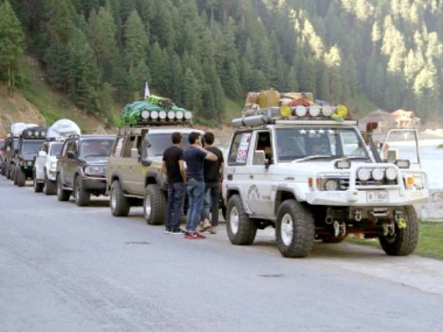 G-B Commissioner Asim Ayub says the 30-kilometre car rally will be first of its kind in Pakistan. PHOTO: FILE