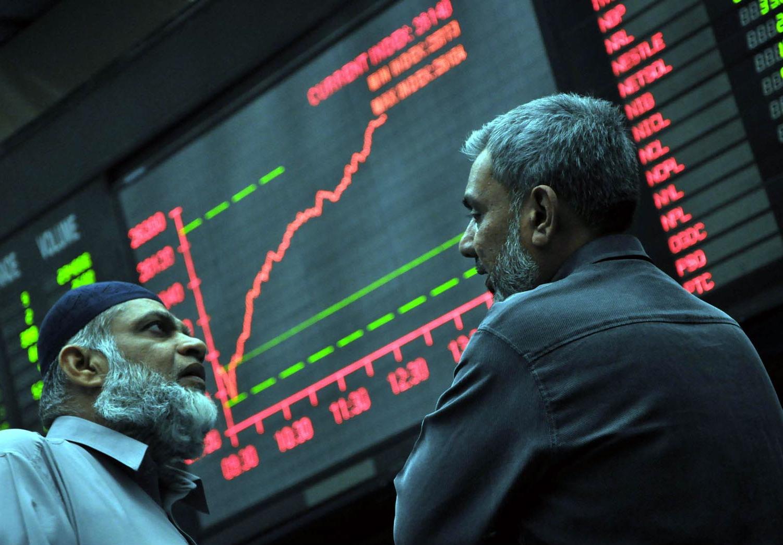 market watch kse 100 snaps three day losing streak ends in the green