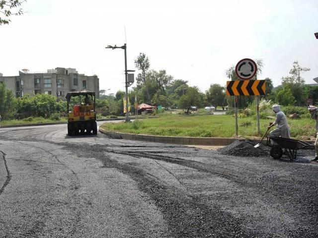 adiala people demand road repairs