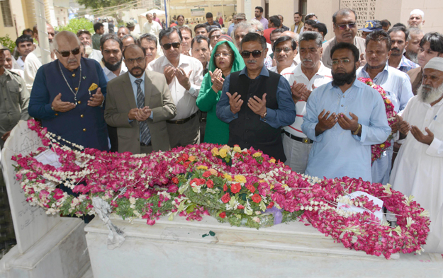 baba e urdu commemorated at his 56th death anniversary