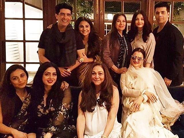 sri devi s star studded birthday bash was a bollywood dream come true