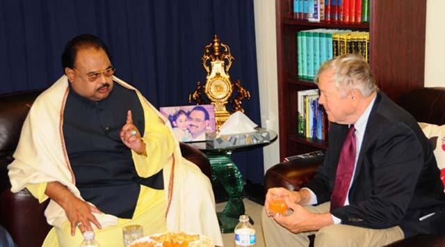 altaf hussain meets us congressman dana rohrabacher khan of kalat in london