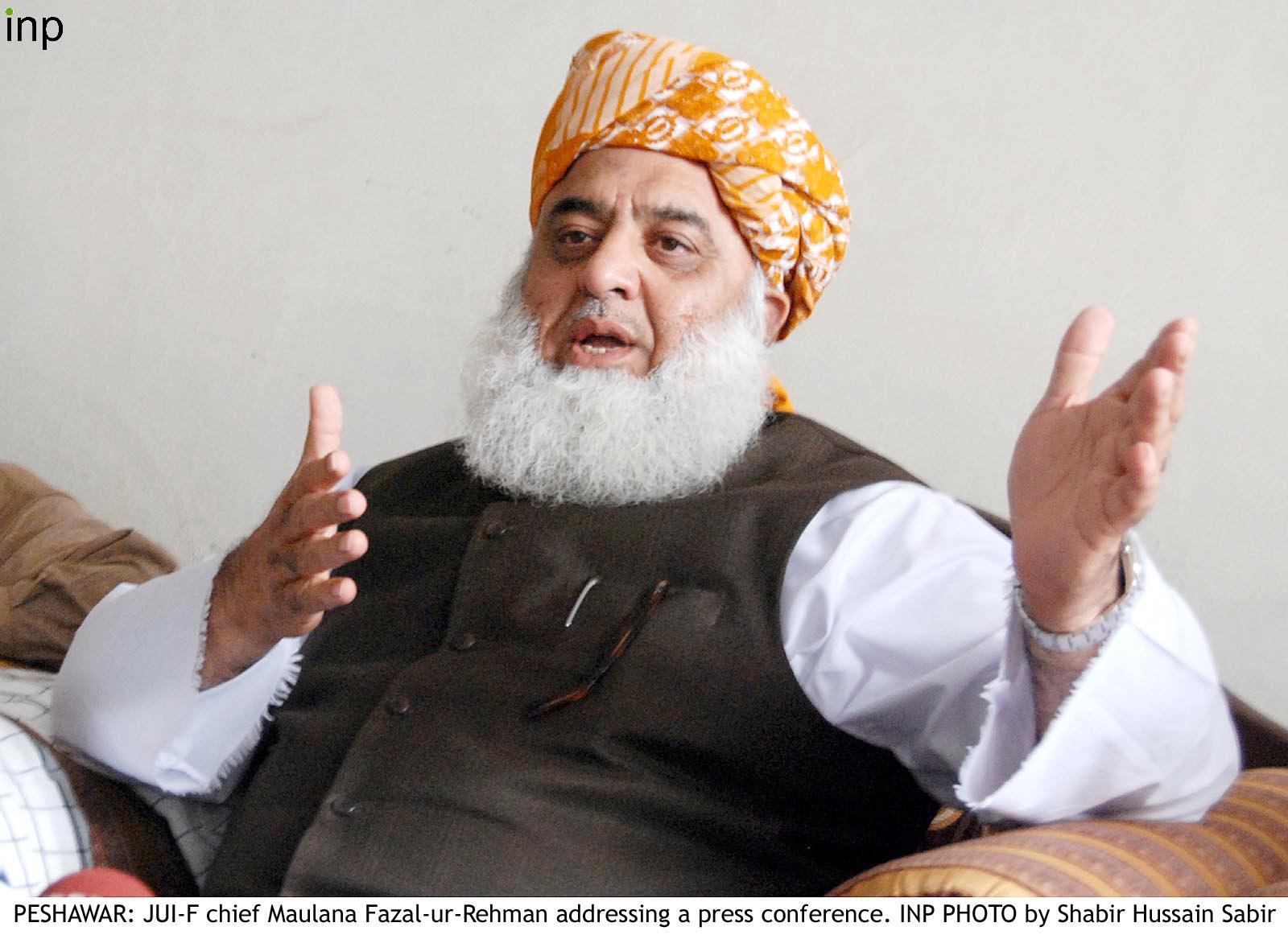 fazlur rehman condemns us move to sanction hizbul mujahideen