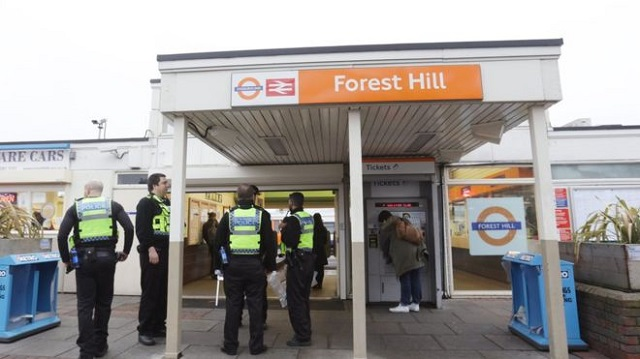 The attack happened on an Overground train near Forest Hill in December PHOTO: BBC