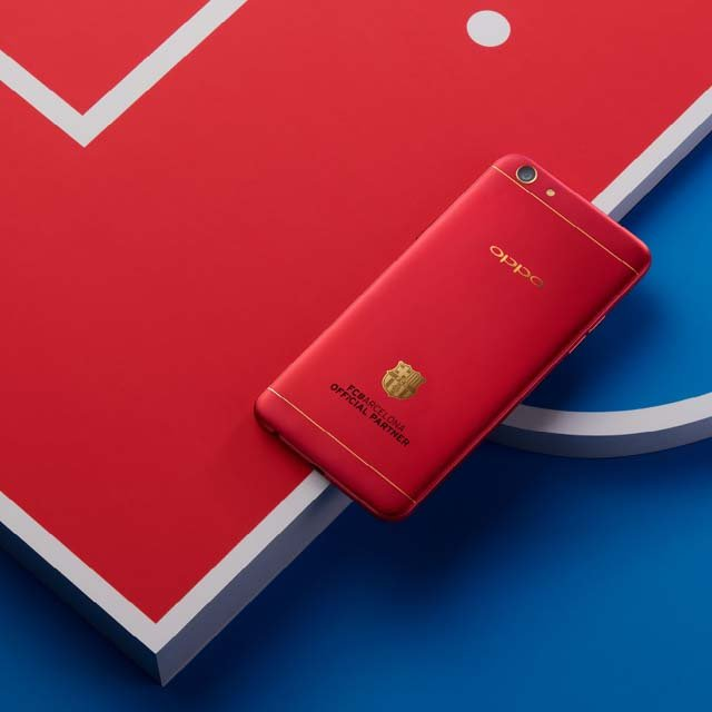 oppo reaches out to football fans launches f3 fc barcelona edition