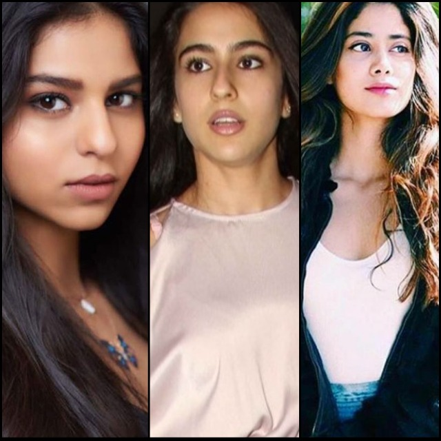 bollywood daughters compete to leave footprints in the film industry