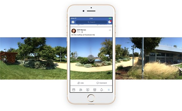 facebook finally lets users capture 360 degree photos and videos through its app