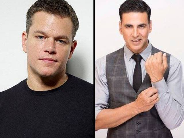 matt damon lauds akshay kumar for spreading the toilet message