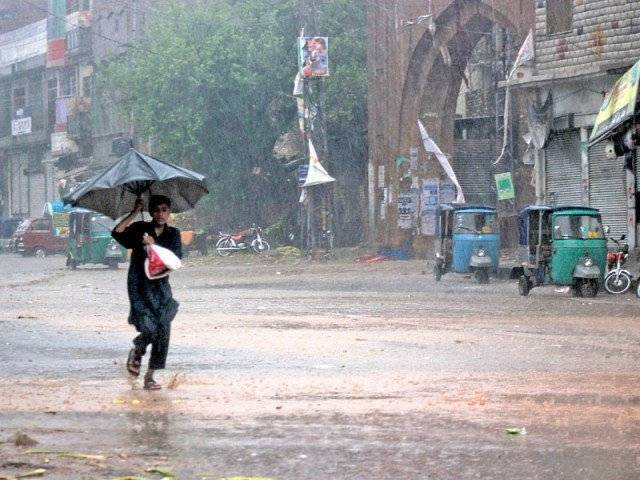 A file photo of rain in Pakistan. PHOTO: EXPRESS