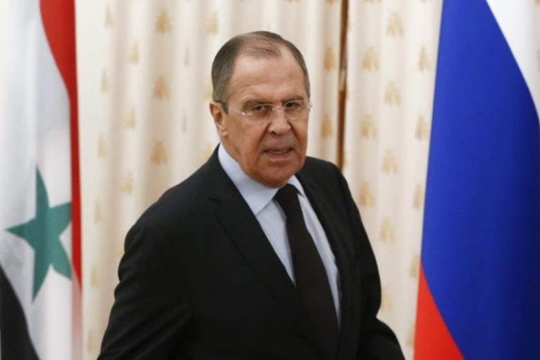 russian foreign minister sergei lavrov attends a meeting with his syrian counterpart walid al muallem photo reuters