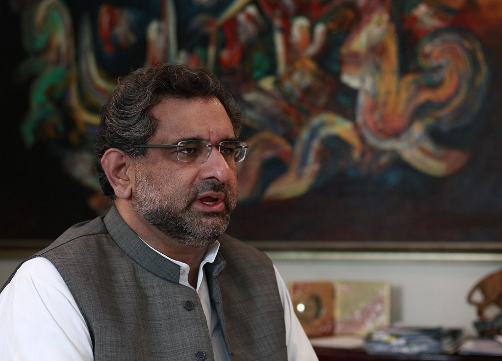 prime minister shahid khaqan abbasi photo reuters file