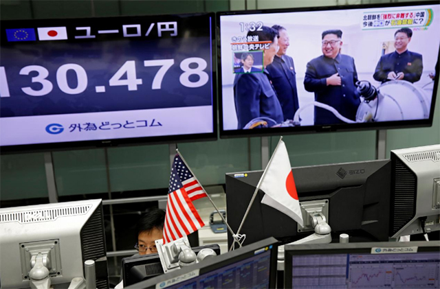 world markets fall after n korea s latest nuclear test
