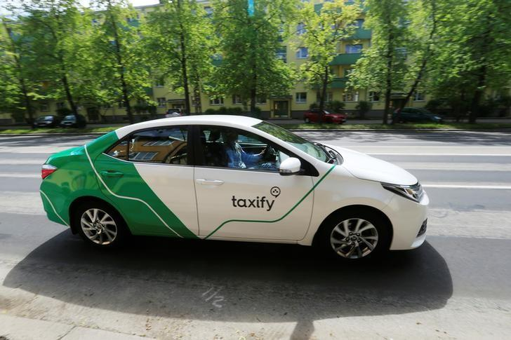 taxify takes on uber in crowded london taxi hailing market