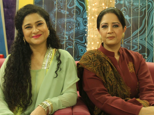 sania saeed and atiqa odho share screen after 25 years