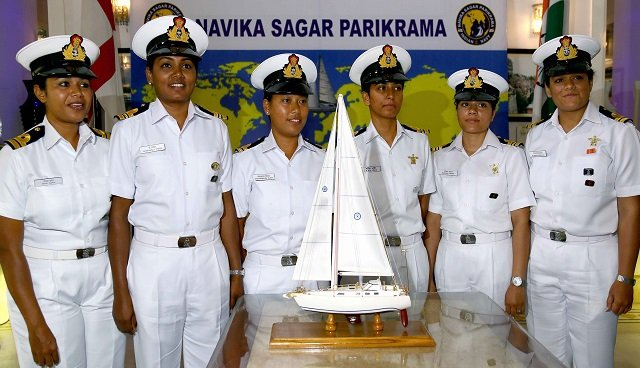 india s first all woman crew on around the globe mission
