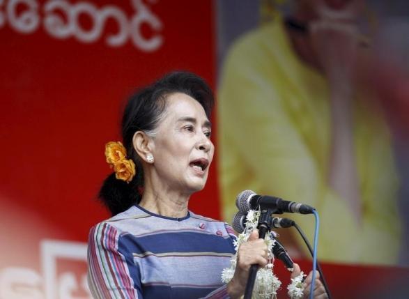 Aung San Suu Kyi. PHOTO: REUTERS