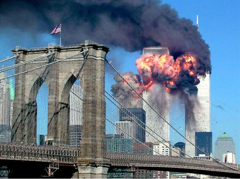 rare images from 9 11 terror attacks