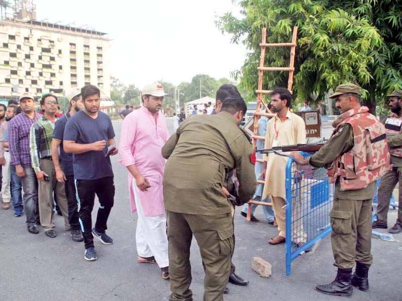 lahore police grab security by the horns