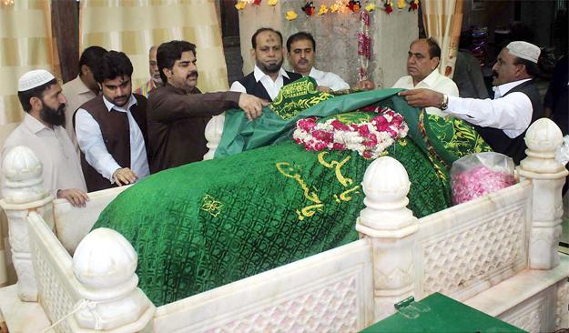 abdullah shah ghazi s urs inaugurated