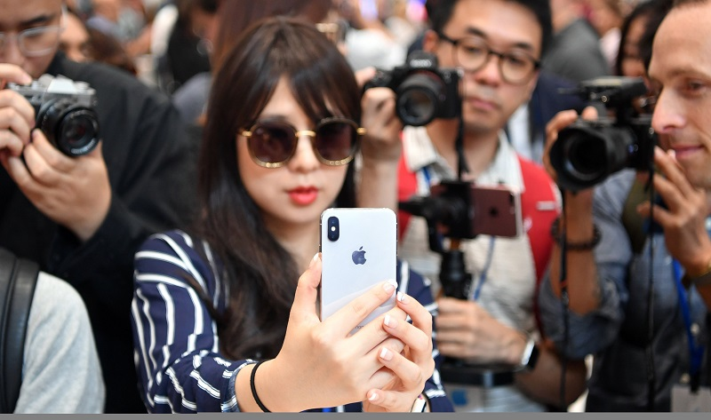 apple launched the iphone x yesterday photo afp