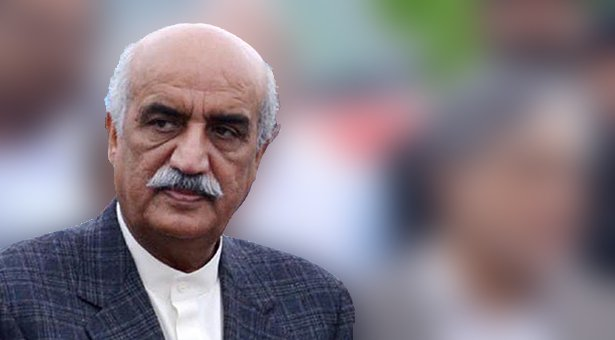 Leader of Opposition in the National Assembly Syed Khursheed Ahmed Shah. PHOTO: INP / FILE