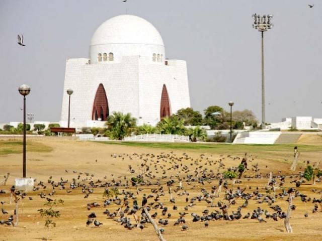 Quaid-e-Azam's Mazar in Karachi. PHOTO: FILE