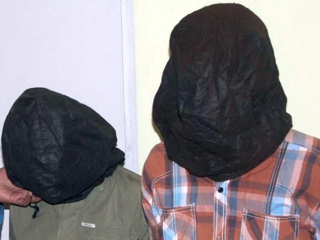 siu islamabad arrests two muggers