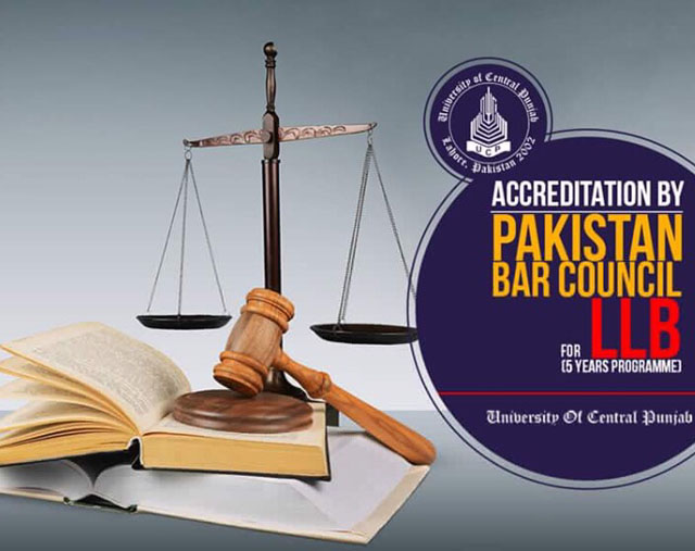 university of central punjab receives accreditation for five year llb program
