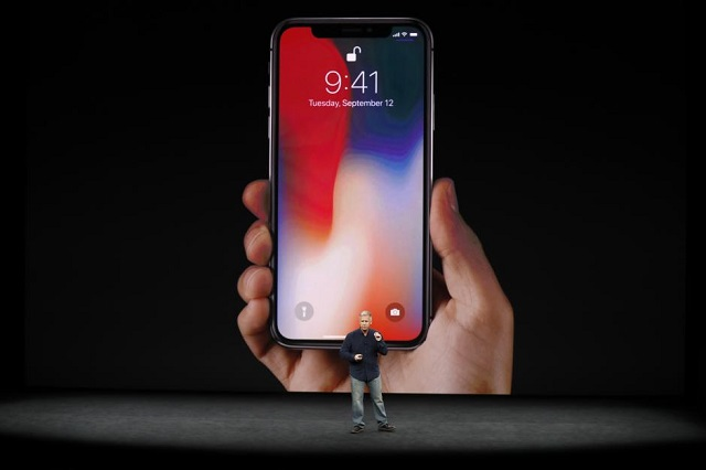 apple senior vice president of worldwide marketing phil schiller introduces the iphone x during a launch event in cupertino california u s september 12 2017 photo reuters