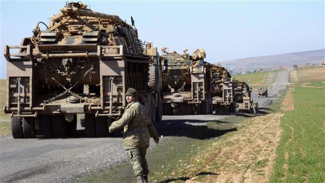 turkish military starts drill near iraqi border