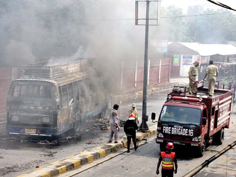 infuriated students set ablaze six buses after tragic death