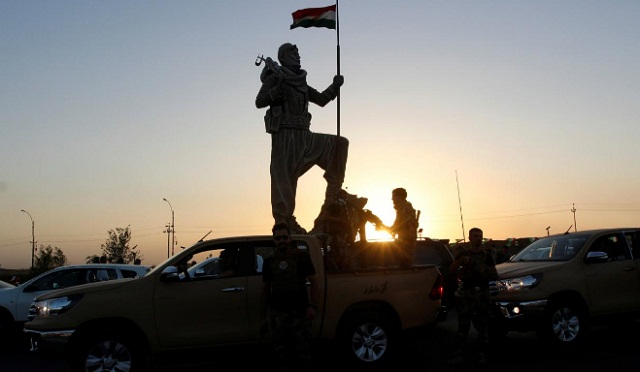 kurdish government meets baghdad officials on eve of independence vote