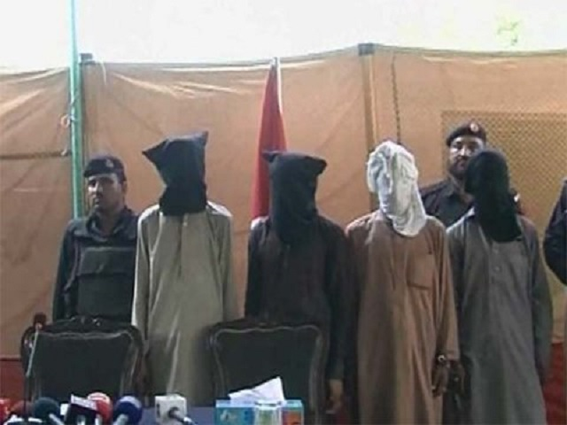 terrorist planning attack on shias among six rounded up in peshawar