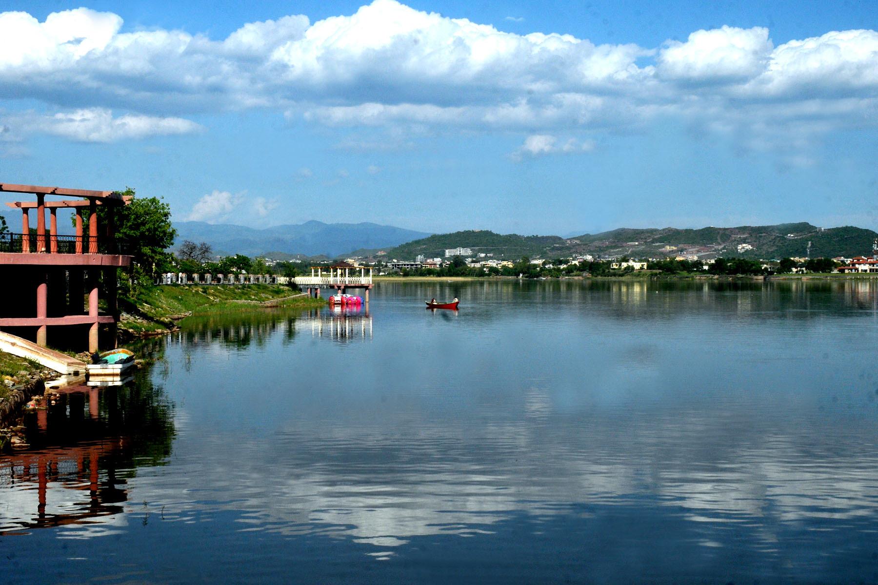 AGP says human, natural activity around lake needs environmental clearance. PHOTO: EXPRESS