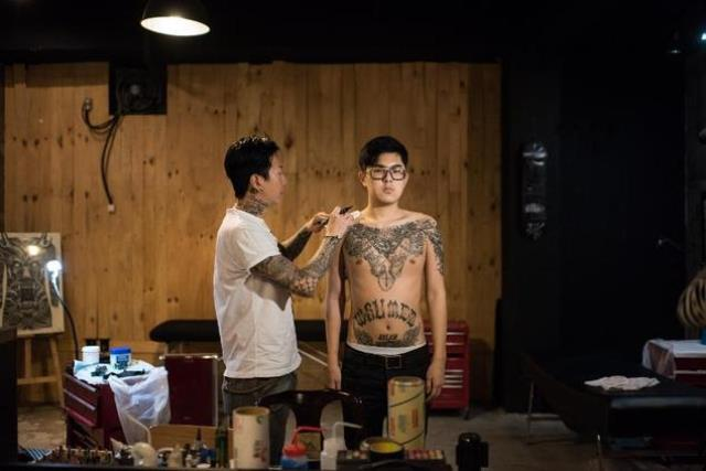 In Japan, tattoos are associated with yakuza organised crime syndicates. PHOTO: AFP