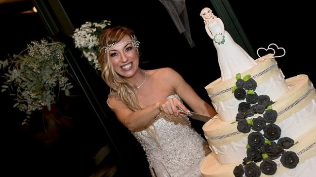 italian woman marries herself in fairytale ceremony