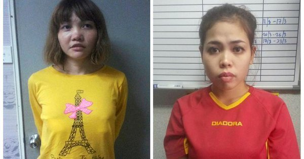 vietnamese doan thi huong l and indonesian siti aishah are seen in this combination picture from undated handouts released by the royal malaysia police photo reuters