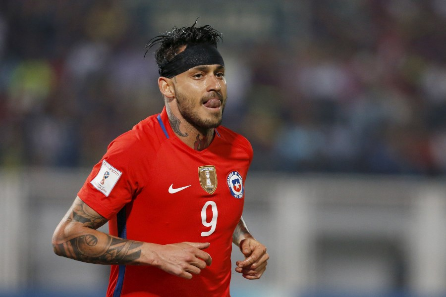 chile pin hope on pinilla for world cup qualifiers
