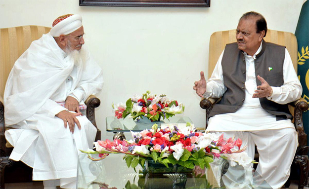 president hussain meets syedna