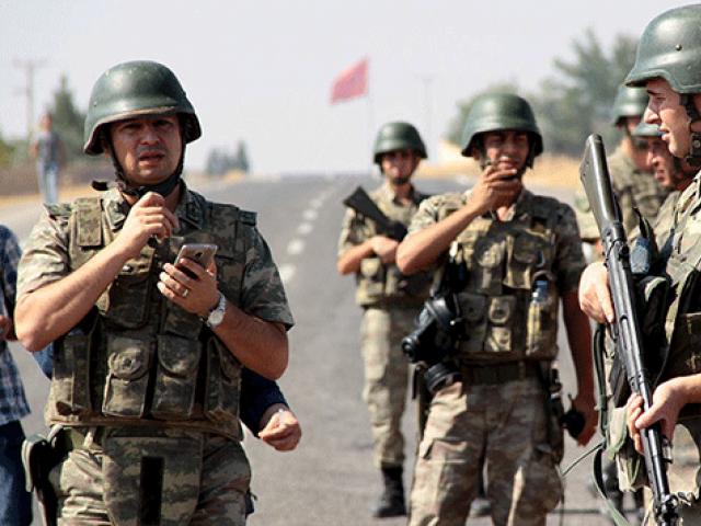 four turkish troops killed in attack blamed on kurd rebels