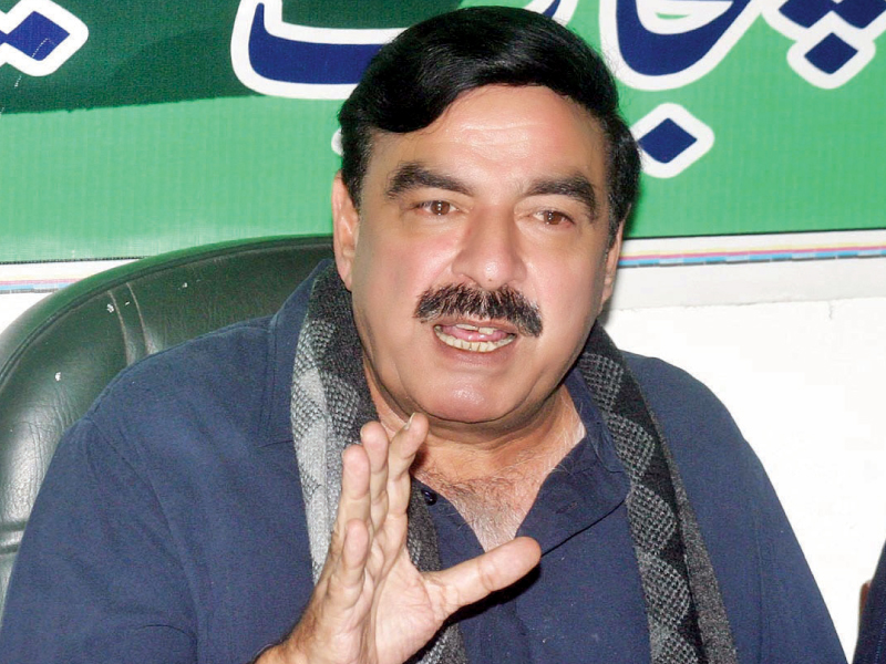 raw can target prominent politicians of the country sheikh rashid