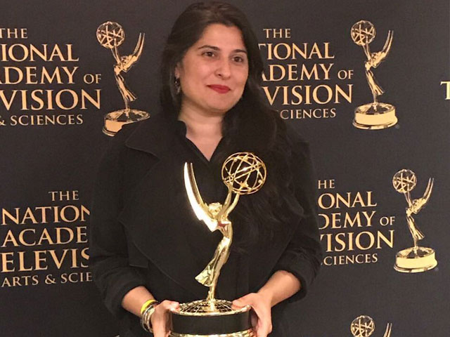 sharmeen obaid chinoy s a girl in the river wins big at the emmys