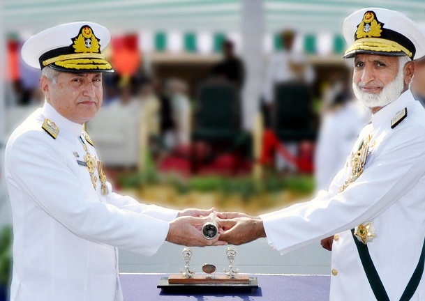 change of command admiral abbasi sworn in as naval chief