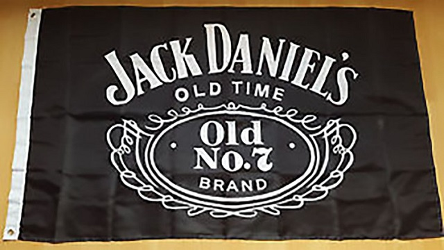 The man said his neighbors all denied writing the note and he explained to all of them that the flag represents Jack Daniel's whiskey, not extremism .PHOTO: CEN