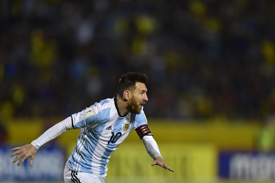 best in history messi leads argentina to world cup 2018