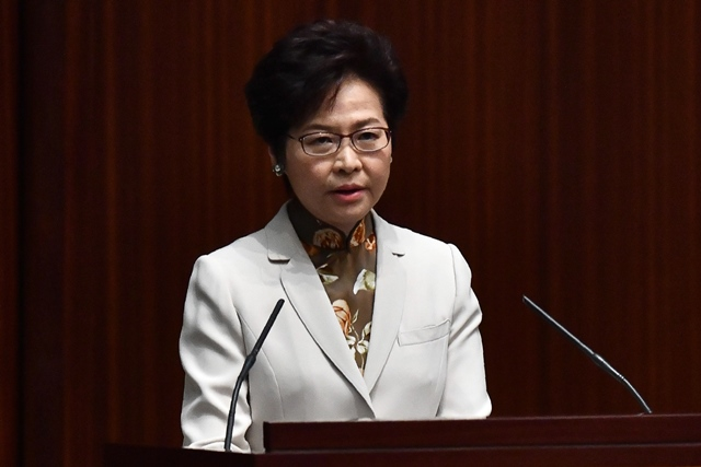 hong kongers must stand up for china lam