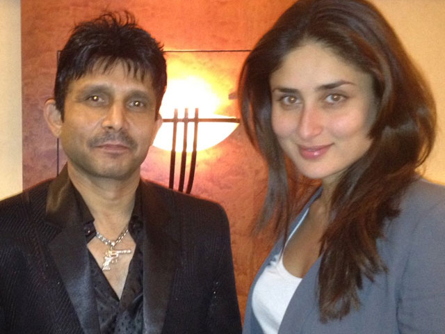krk posts picture with kareena kapoor alleges to be in a four year relationship with her