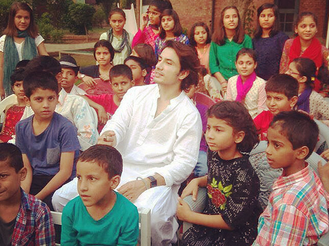 ali zafar performing at sos children s villages will melt your soul
