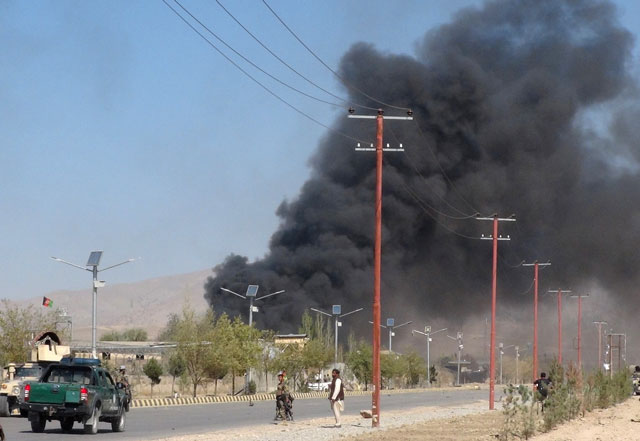 suicide bombers gunmen kill 71 in attacks on afghan security forces